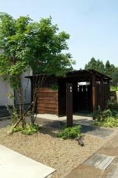 幸和町の庭